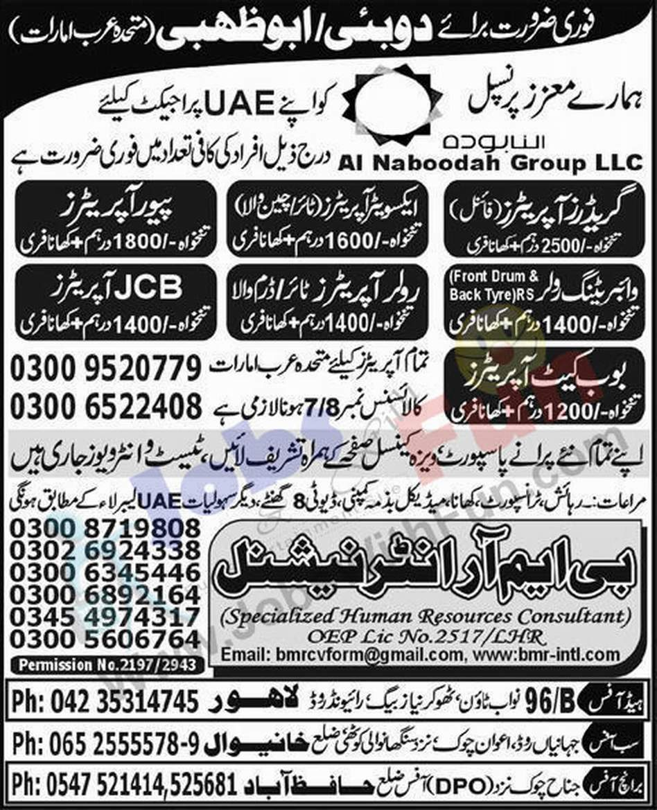 Jobs In Al Naboodah Group LLC Abu Dhabi And Dubai UAE | Jobs